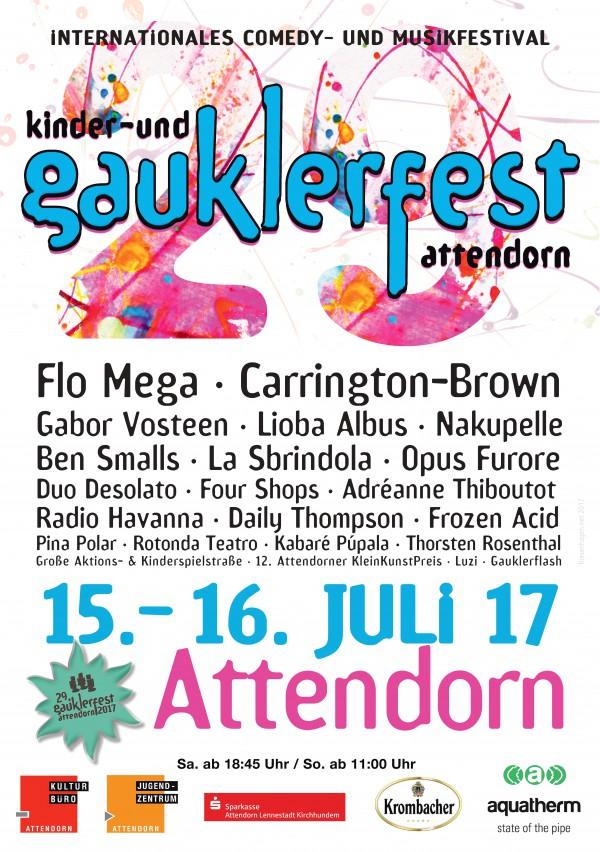 Gauklerfest 2017