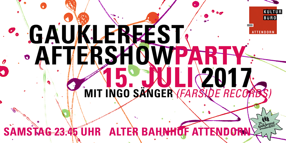 Aftershow Party 2017